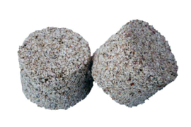 Mineraalblok Klein Fijn (Mineral-Block, klein, fein)