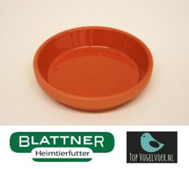 Stone Food Bowl Glazed 8 / 9cm (Tonuntersetzer 8/9 cm glasiert)