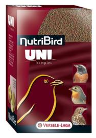 Nutribird Uni Komplet 1kg (Uni komplett - Pelletfutter für kl. Weichfresser)