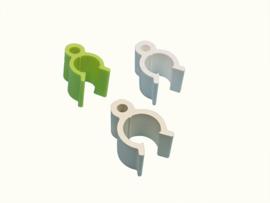 Zitstokhouder Kunststof Wandbevestiging 10mm (Sitzstangenhalter Kunststoff zur Wandbefestigung 10 mm)