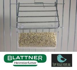 Food Bowl Transparent Front (Plastiknapf für Vorsatzgitter)
