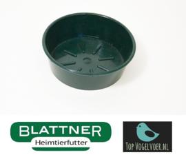 Kunststof voer / badschaal Ø 10cm groen (Kunststoffschale Ø 10 cm)
