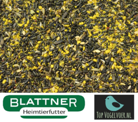 Blattner Eivoer + Germix Sijs All in one 1kg (Germix Zeisig gelb)