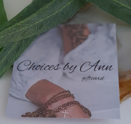 Choices by Ann Giftcard