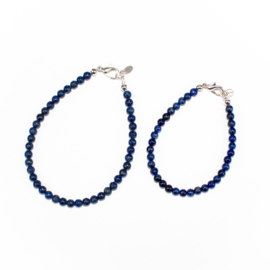 Moeder en dochter setje Lapis Lazuli