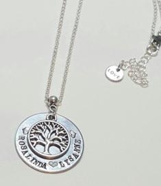 Levensboom hanger met namen - Naam levensboomhanger
