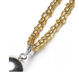 Zwangerschapsketting goud met zilveren bola bel - Proud MaMa