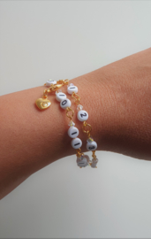 Voedingsarmband Gold - armband als hulpmiddel tijdens voedingsperiode baby