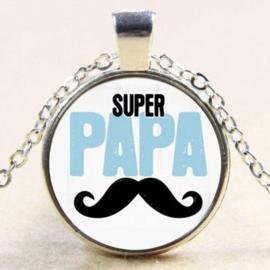 Stoere ketting voor een super papa