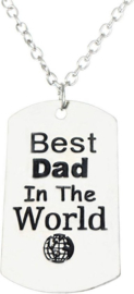 Ketting Papa - Best Dad in the world