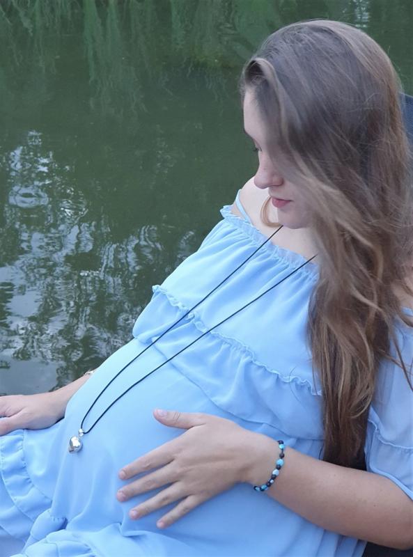 Zwangerschapsketting voor aanstaande moeder