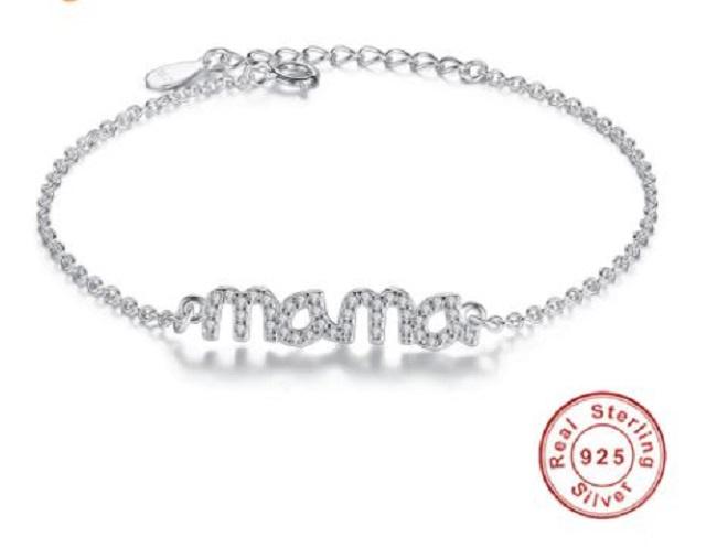 MRLK® Zilveren armband Mama