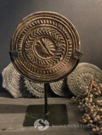 Mandala steen op statief | Maat L