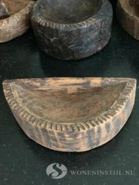 Oud Tempelbakje hout | India (9)