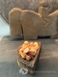 Oud Tempelbakje hout | India (5)