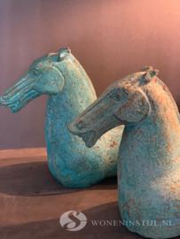 IJzeren paard | Grijsgroen