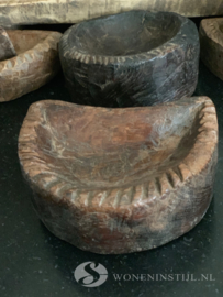 Oud Tempelbakje hout | India (4)
