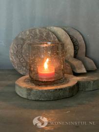 Houten onderzetter | Mandala