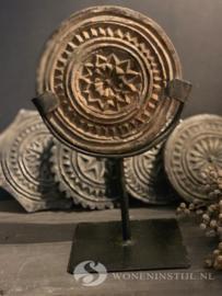 Mandala steen op statief | Maat S