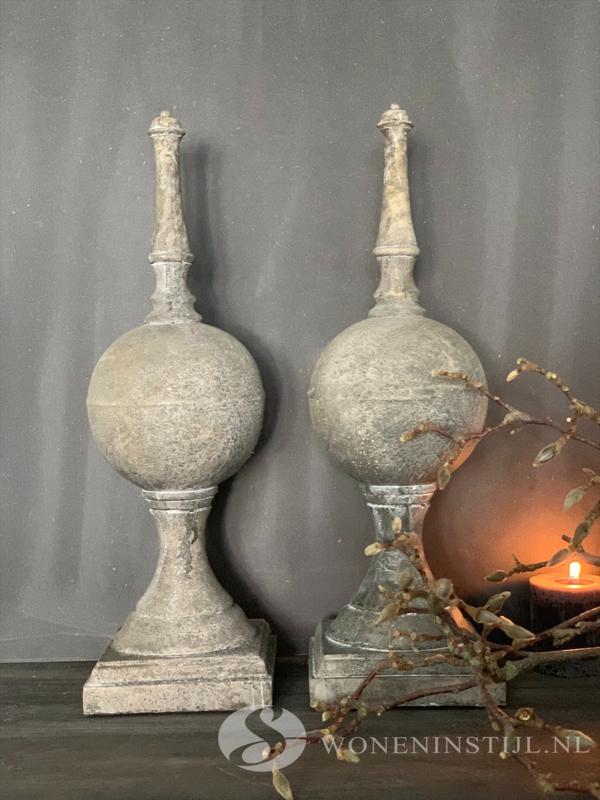 Ornament /pinakel | 50 cm (h)