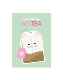 Postkaart | You're my bestea