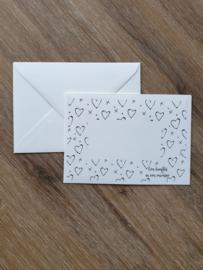 Envelop | Een knuffel in een envelop | A6