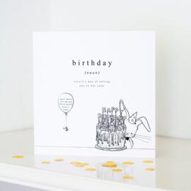 Wenskaart | Birthday