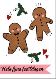 Postkaart | Hele fijne feestdagen