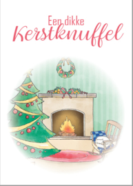 Postkaart | Een dikke kerstknuffel