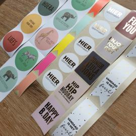 Voordeelset | 50 stickers - Feest