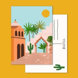 Postkaart | Vakantie ansichtkaart