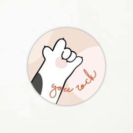 Stickers Hebbers | You Rock | 10 stuks