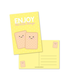 Postkaart | Enjoy the little things