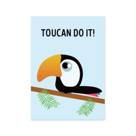 Postkaart | Toucan do it