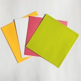 Envelop   Vierkant groen