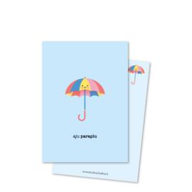 Postkaart | Aju paraplu