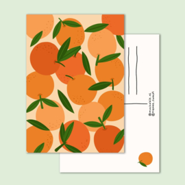 Postkaart | Sinaasappels