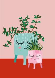 Postkaart | Planten