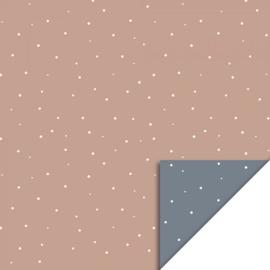 Cadeauzakje M  | Little dot warm pink | 5 stuks
