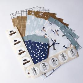 cadeauzakjes + stickers pakketje
