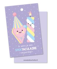 Label | Spektaculaire verjaardag