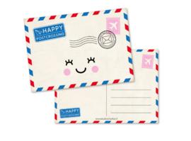 Postkaart | Happy postcrossing