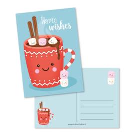 Postkaart | Warm Wishes