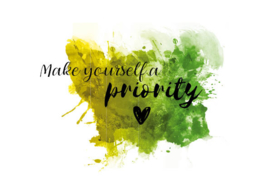 Postkaart | Make yourself a priority