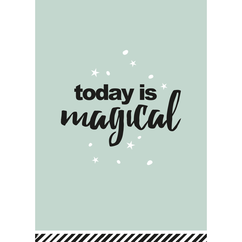 Postkaart | Today is magical