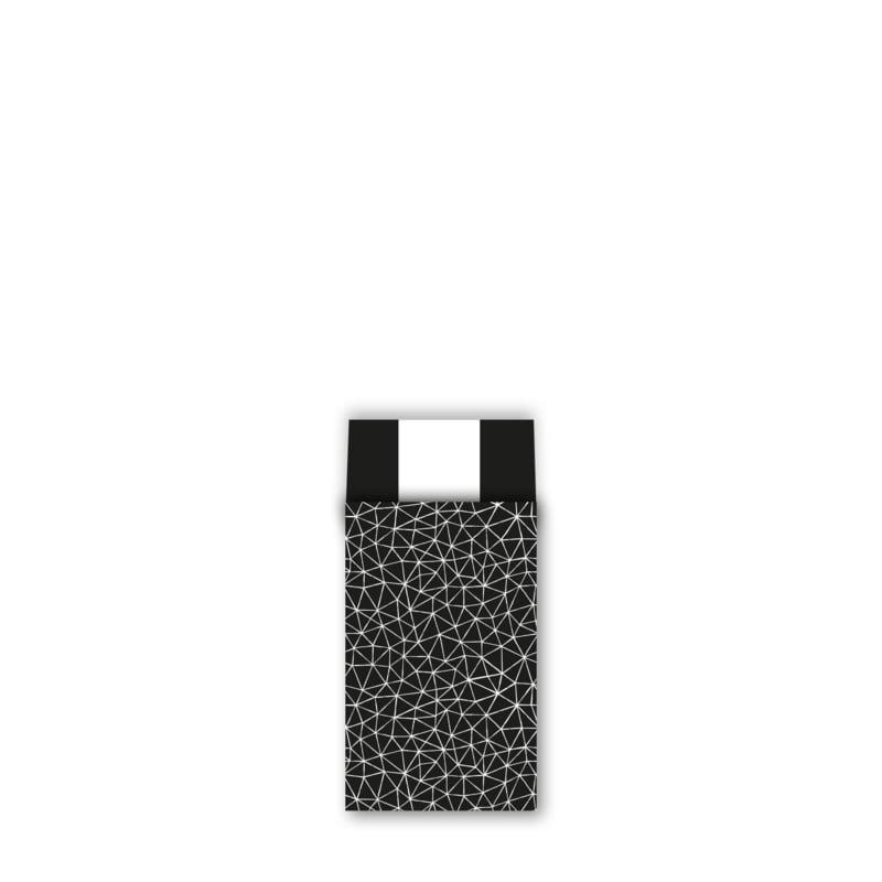 Cadeauzakje M | Subtle Graphics zwart/wit | 5 stuks