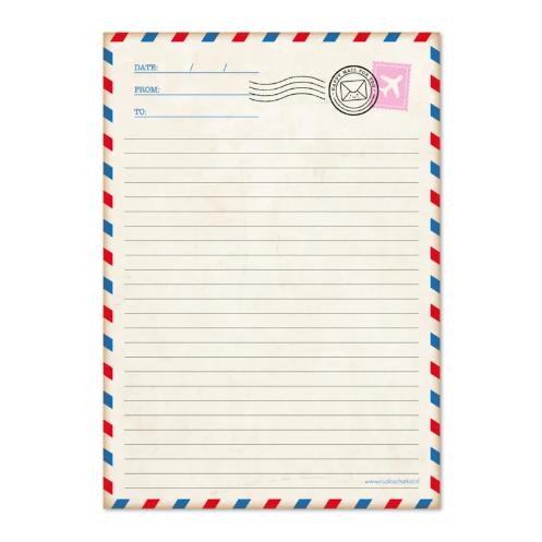 Schrijfblok | Airmail