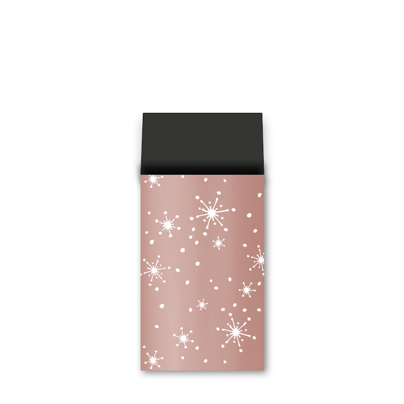 Cadeauzakje M | Stars - Rosé/goud | 5 stuks
