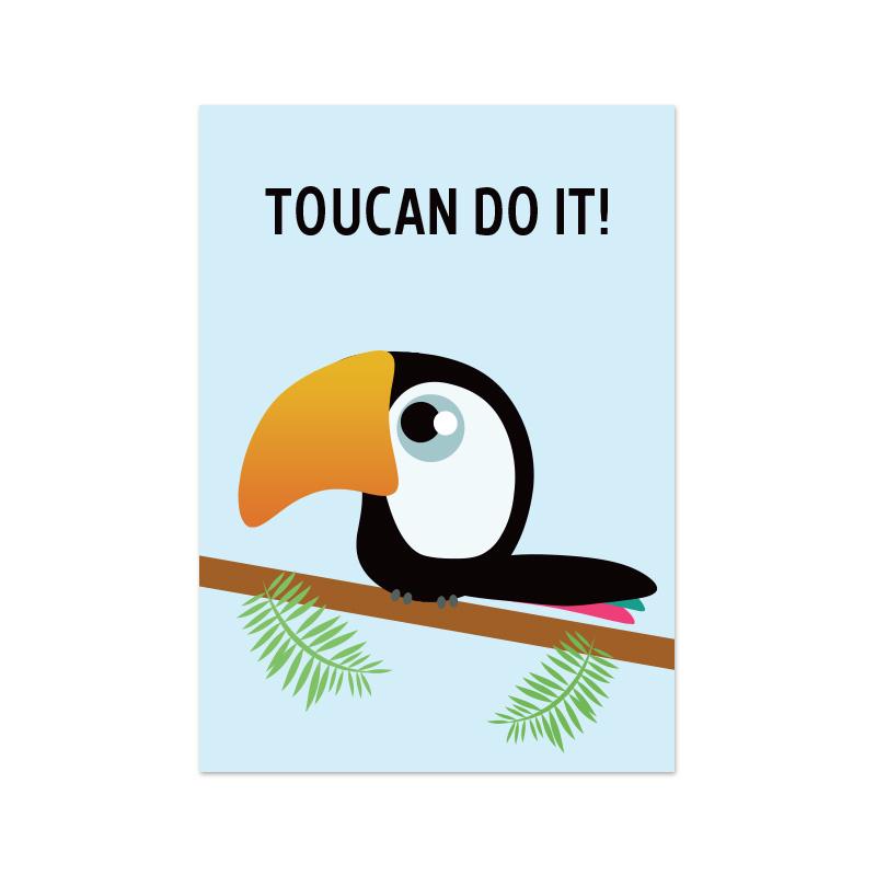 Postkaart   Toucan do it