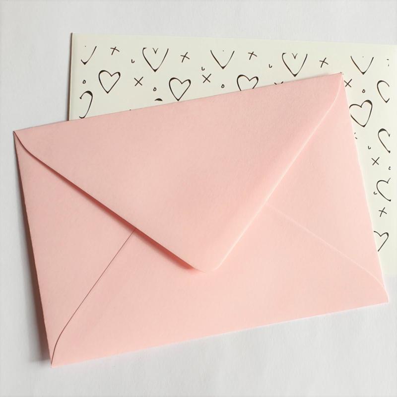 Envelop | Roze pastel | A6